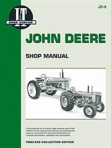 John Deere Model 70 Diesel Tractor Service Repair Manual