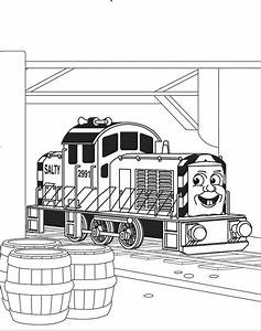 Thomas The Tank Engine Coloring Pages 13