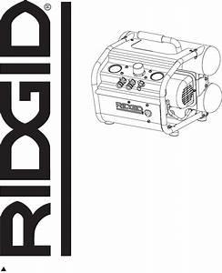 Download Ridgid Air Compressor In625301av Manual And User