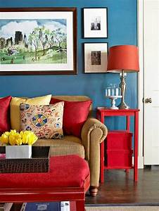 Red white and blue decor lamps plus for What kind of paint to use on kitchen cabinets for sofa size wall art