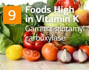 Foods High Vitamin K