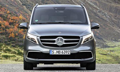 Mercedes V Klasse 2019 by Mercedes V Klasse Facelift 2019 Motor Autozeitung De