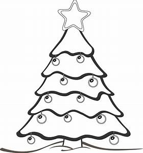 clipartist.net » Clip Art » xmas christmas tree black ...