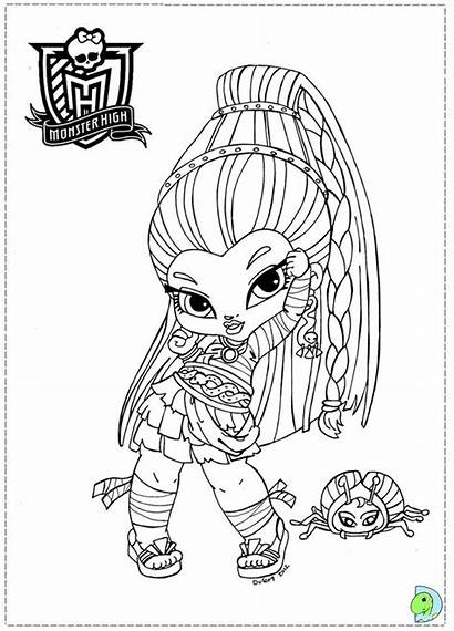 Coloring Pages Savage Monster Template