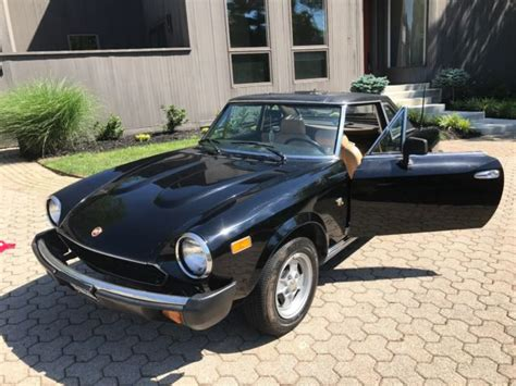 Fiat Spider Hardtop by Fiat 124 Spider With Hardtop