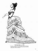 Coloring Historical Adult Final Victorian Colouring Skirts Fashions Edwardian Books Corsets Hoop Sheets Drawing sketch template