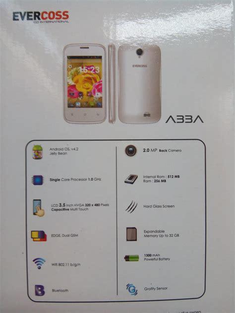Harga Dan Merk Hp Evercoss harga dan spesifikasi evercoss a33a handphone android 300