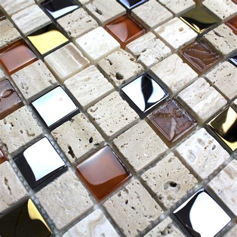 malika en salle de mosaique salle de bain et couleur beige malika en verre