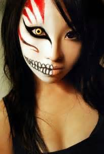 The Purge Halloween Mask Cheap by Amazing Halloween Makeup We Heart It
