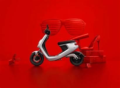 Niu M1 Scooter Electric Behance