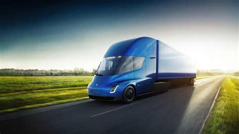 pepsico orders   semi trucks  tesla top speed