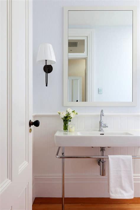 White Beadboard Bathroom  Cottage  Bathroom  Arent & Pyke