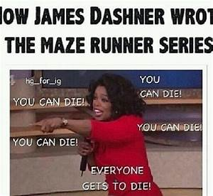 How James Dashner wrote the maze runner series...pretty ...