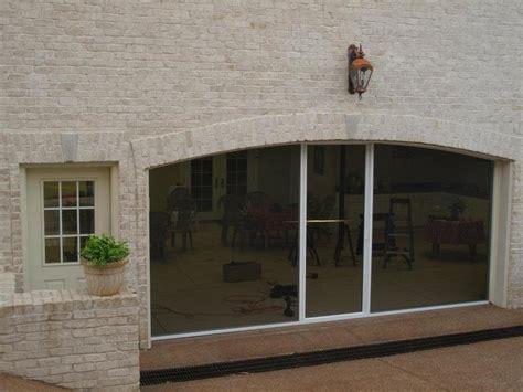 retractable garage door screen retractable garage door screens fwb destin freeport