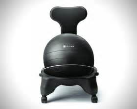 gaiam balance ball chair hiconsumption