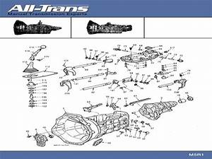 Nissan Manual Transmission Parts Diagram