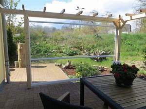klarsichtrollo fur terrassendacher und balkone ab werk With garten planen mit transparente versiegelung für balkon und terrasse