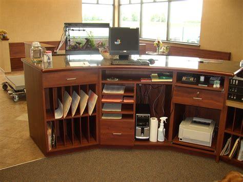 office desk storage ideas reception desk more ideas for storage clinic remodel