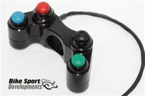4 Button Race Type Handlebar Switch