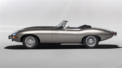 Electric Version Of Jaguar's Classic E-type To Go Into
