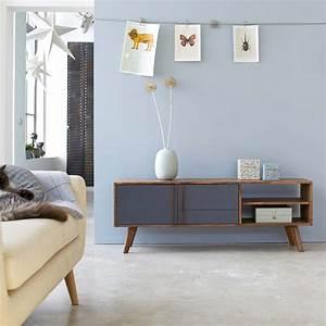 Meuble Tv Scandinave But : meuble tv scandinave en bois fonc ~ Teatrodelosmanantiales.com Idées de Décoration