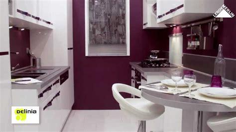 cuisine delinia aubergine meuble de cuisine delinia