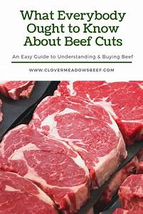 What Everyone Ought To Know About Beef Cuts  1