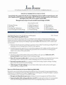 marketing resume template health symptoms and curecom With www resume sample
