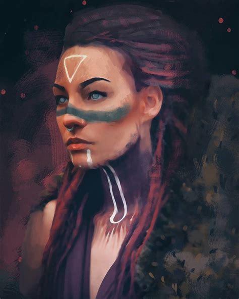 ArtStation - Girl, Naira Murtazayeva