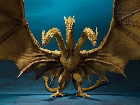 S.h.monsterarts King Ghidorah Godzilla King Of The