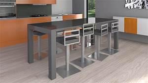 Table de salle a manger design avec rallonge hooheadcom for Table de salle a manger design avec rallonge