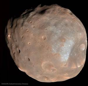 Astronomy Picture of the Day -- Phobos: Doomed Moon of Mars