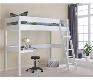 Lit Superposé Ado : lit superpose avec bureau pour fille visuel 2 ~ Farleysfitness.com Idées de Décoration