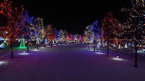 holiday light displays  edmonton