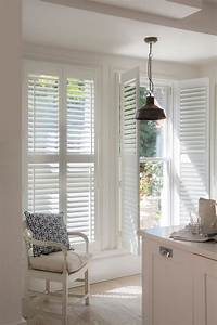 Transform, Any, Room, With, Elegant, White, Wooden, Shutters