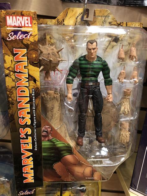 marvel select sandman figure released  hand