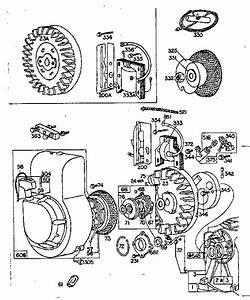 Briggs  U0026 Stratton Briggs And Stratton Gas Engine Parts