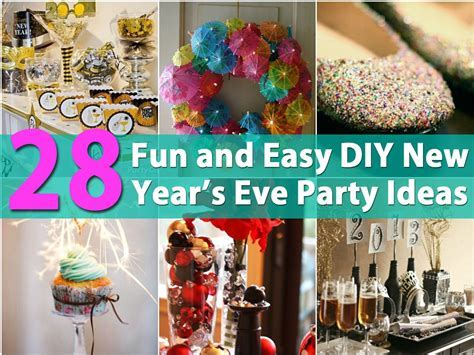 28 Fun and Easy DIY New Year?s Eve Party Ideas   DIY & Crafts