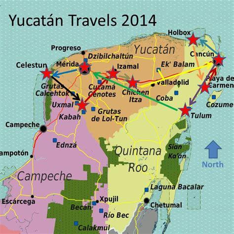 yucatan itinerary exploration vacation