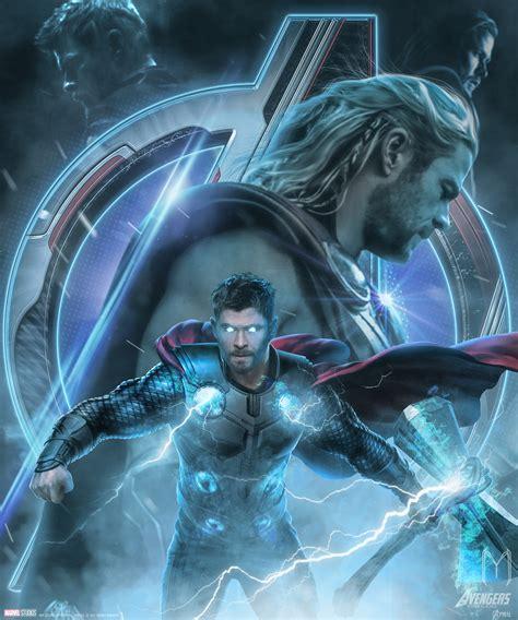 avengers endgame thor wallpapers wallpaper cave