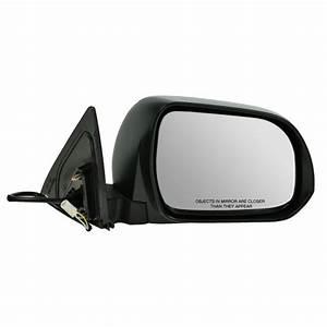 Mirror Side View Power Folding Passenger Right Rh For