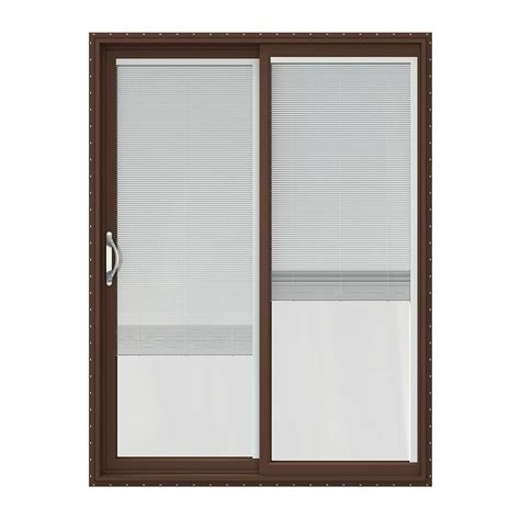 sliding patio door brown patio doors exterior doors