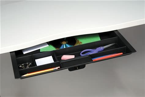 under desk pencil drawer kit wide pencil drawer kit
