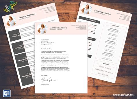 Pre Made Resumes by Resume Design Pre Made Templates Mismikado Etsy And
