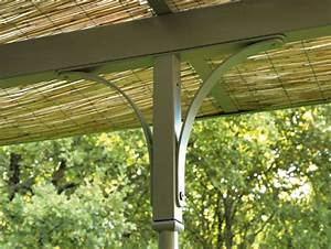 Anbau terrassenuberdachung aus eisen easy by ethimo for Terrassenüberdachung eisen
