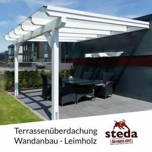 Terrassenuberdachung holz 6x4 m 600x400 cm wandanbau for Terrassenüberdachung holz 6x4
