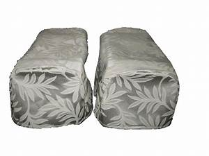 pair cream arm cap chair settee covers decorative x 2 ebay With chair arm cap covers