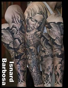 Pin Tattoo Pieta Sleeve Part One Picture By Austcy ...