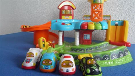 vtech tut tut baby flitzer garage go go smart wheels
