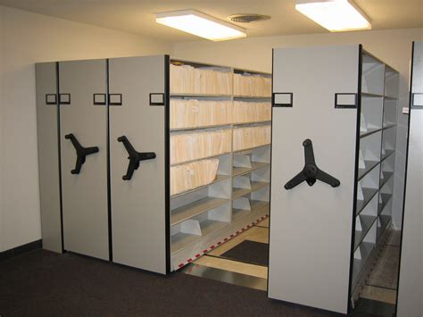 Shelving And Storage Systems by Compact Shelving